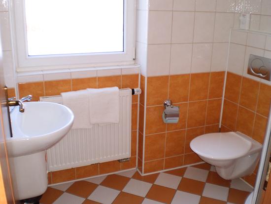 Penzión Centrum kúpelňa