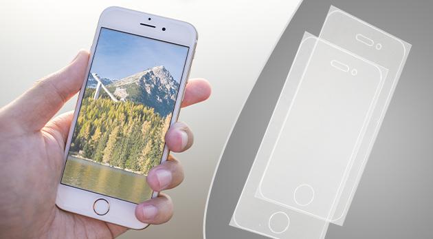 Ochranné fólie pre všetky typy Apple iPhone