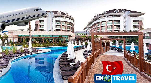 Nezabudnuteľný 8-dňový letecký zájazd do Turecka s ubytovaním v luxusnom 5* hoteli Sherwood Dreams Resort