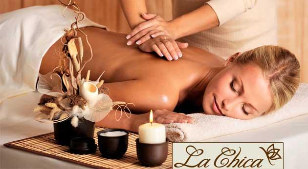 Blahodarné masáže, rašelinový zábal alebo luxusný kokosový peeling v salóne La Chica