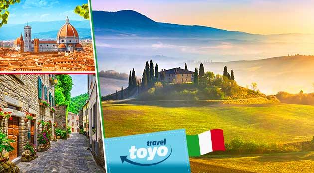 5-dňový zájazd do romantického Toskánska s CK Toyo Travel vrátane dopravy a ubytovania v hoteli s raňajkami