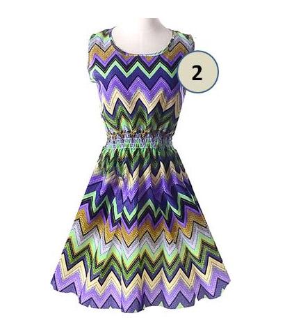 dámske letné šaty Ria. Na výber sú tieto vzory  vzor 1. vzor 2 b7d358705a9