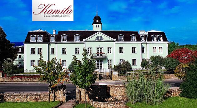 Oddych pre dvojicu v historickom Hoteli Kamila**** v Chorvátskom Grobe pri Bratislave