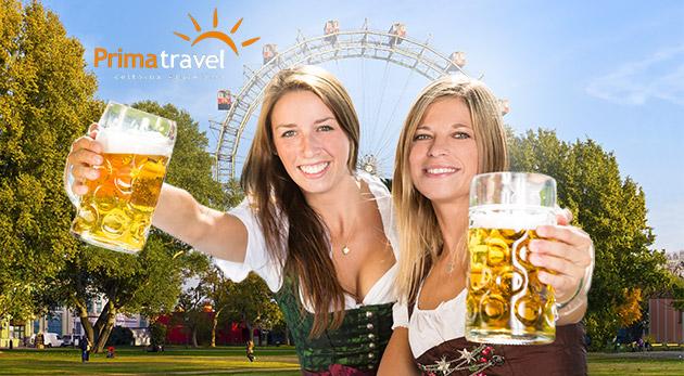 Festival piva vo Viedni spolu s prehliadkou mesta