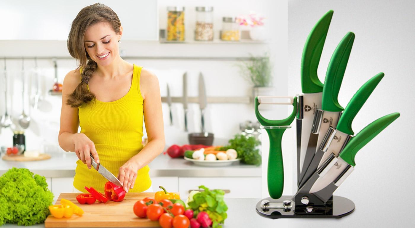 Profesionálne 3-dielne alebo 4-dielne sady nožov so škrabkou