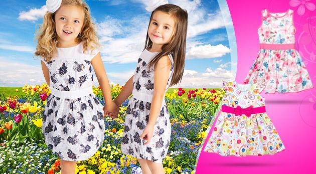 a7f261aabb0b Krásne dievčenské letné šaty - na výber rôzne modely