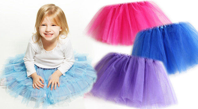 Roztomilá TUTU sukňa pre všetky malé dámy od 3 - 9 rokov