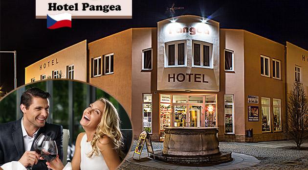 Relax pre dvoch v historickom meste Telč počas 3 dní v rodinnom Hoteli Pangea***