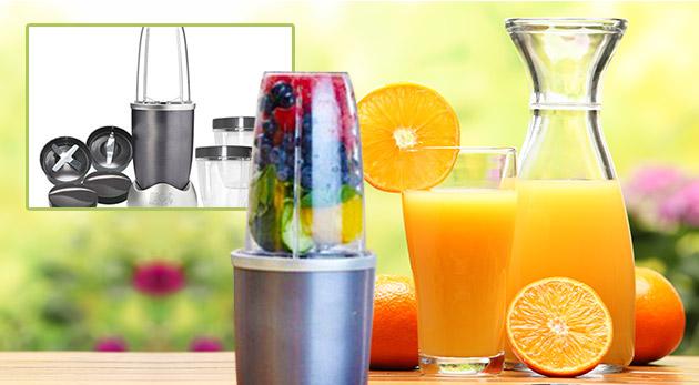 Výkonný smoothie mixér pre maximum vitamínov vo vašom nápoji