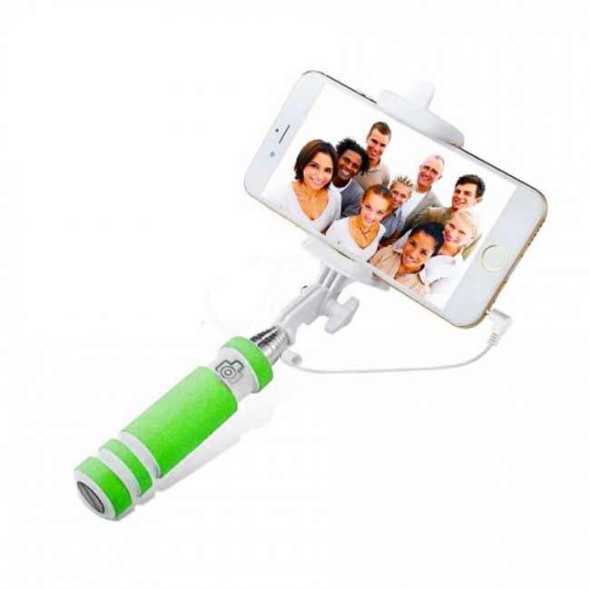 Teleskopický selfie držiak MINI - zelený