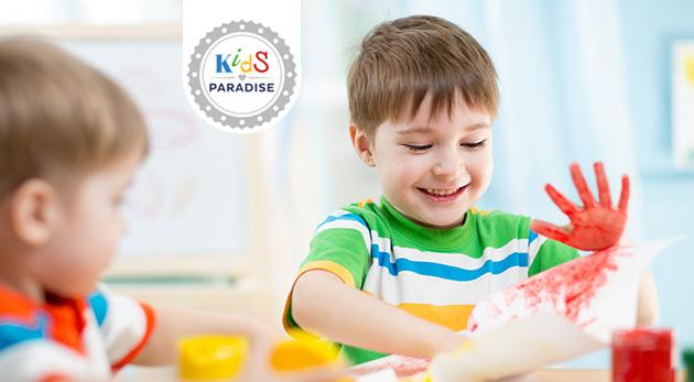 Týždenný letný denný tábor v Kids Paradise pre deti od 2 do 6 rokov