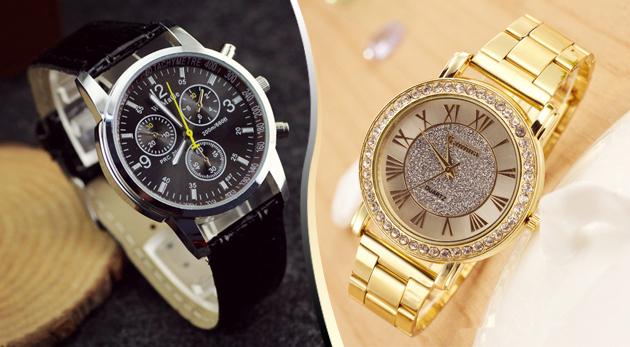 Pánske hodinky z nerezovej ocele za 5,99 €