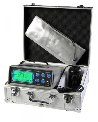 Detoxikačný prístroj s 5 modulmi a náramkom, cievkou, infračerveným opaskom a kufríkom