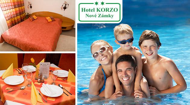Pár dní oddychu v Hoteli Korzo** v Nových Zámkoch