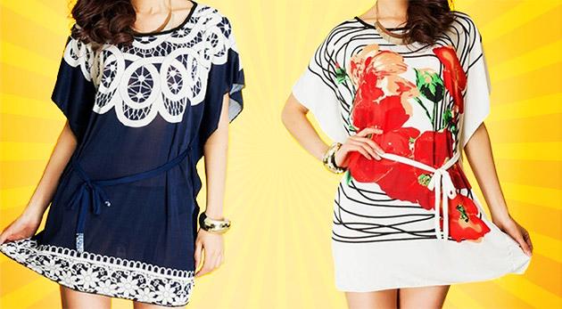 Trendy dámske tuniky ideálne na letné mesiace