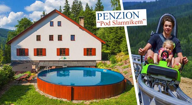 Letná dovolenka plná relaxu a zábavy na Dolnej Morave v Penzióne Pod Slamníkem