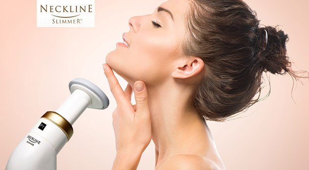 Neckline Slimmer - prístroj na odstránenie dvojitej brady a jemných mimických vrások