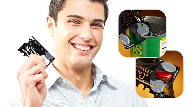 Multifunkčný nástroj - skrutkovač, otvárač na konzervy či stojan na telefón v jednom