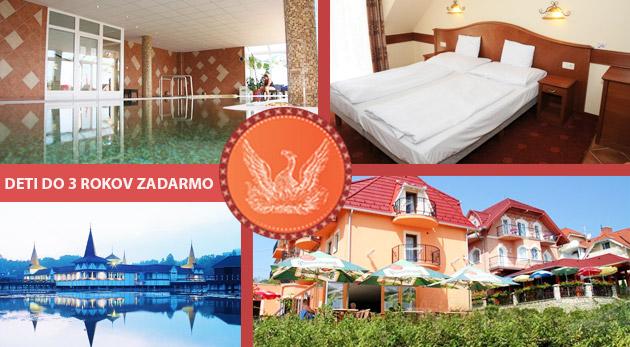 Relax vo wellness a mnoho ďalšieho v Club Hoteli & Wellness Főnix v maďarskom kúpeľnom meste Hévíz