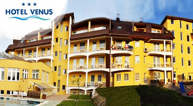 Wellness relax v Hoteli Venus*** v maďarskom kúpeľnom meste Zalakaros pre dvoch