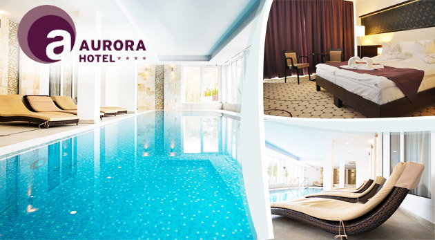Relaxačné 3 dni v Hoteli Aurora**** pri slávnych jaskynných kúpeľoch v Maďarsku