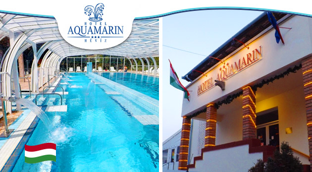 Blahodarný oddych v maďarskom Hévíze v Hoteli Aquamarin*** s vlastným termálnym prameňom