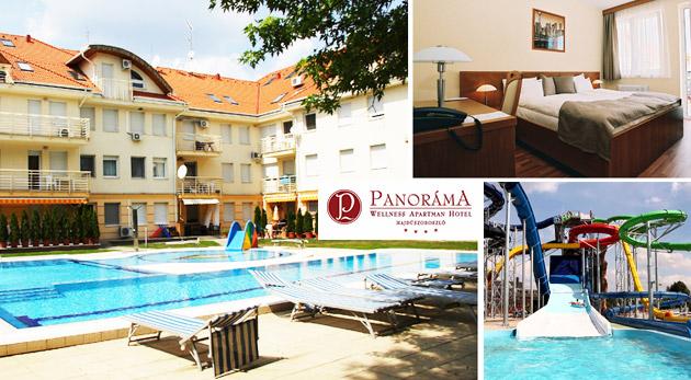 Oddychové dni v Panoráma Wellness Apartman Hoteli**** pri známych maďarských kúpeľoch Hungarospa