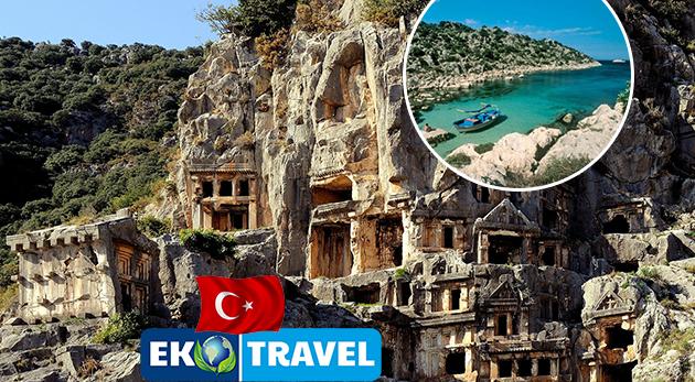 Jedinečných 8 dní v malebnom Turecku s možnosťou výletu na Rodos - letecký zájazd