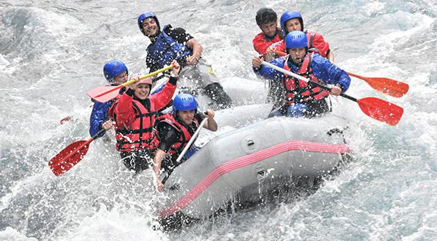 Splav rieky Váh alebo rafting so skúseným inštruktorom