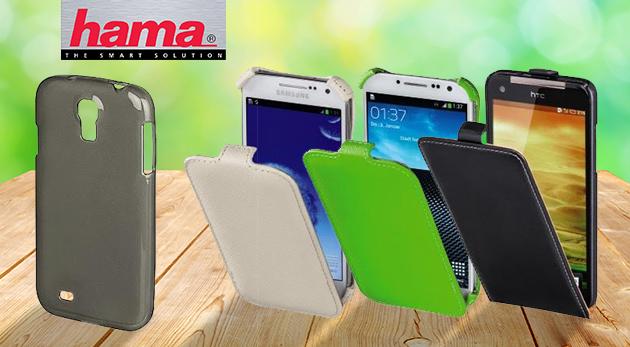 Puzdra a kryty na mobily Samsung, LG alebo HTC značky Hama