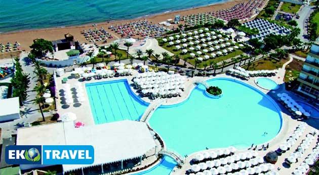 Relax na severnom Cypre - 8 dní v luxusnom 5* hoteli ACAPULCO vrátane letenky a SOFT ALL INCLUSIVE