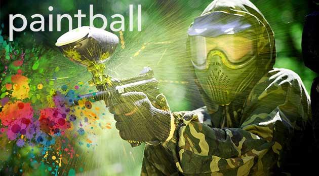 Tri hodiny paintballu v Kalinkove na ihrisku s rozmerom 80 x 60 metrov