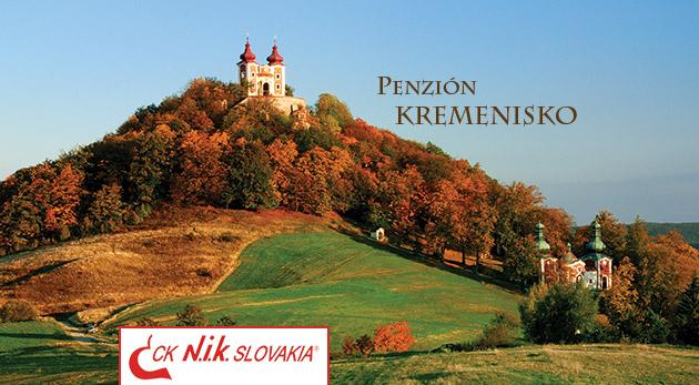 Jesenná romantika v krásnom prostredí Štiavnických vrchov v Penzióne Kremenisko