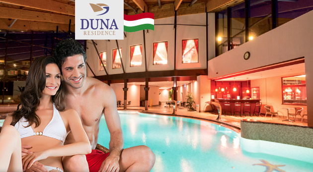 Úžasný wellness pobyt pre dvoch v luxusných apartmánoch v Duna Residence***** v Maďarsku