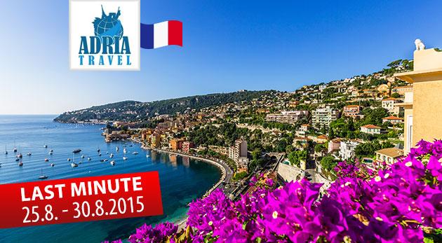 Perly Francúzskej riviéry počas 6-dňového zájazdu s CK Adria Travel