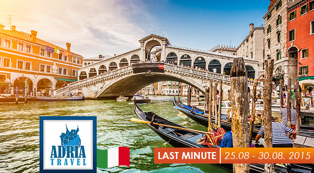 Najobľúbenejšie mestá Talianska počas 6-dňového autobusového zájazdu s ubytovaním v hoteli