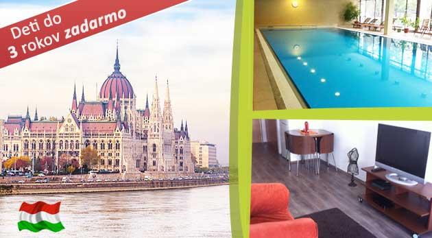 Magická Budapešť v Riverside Wellness Apartman