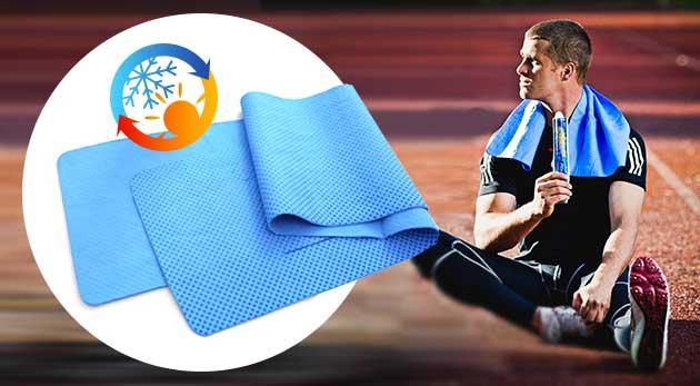 Rýchle a účinné schladenie uterákom s chladivým účinkom