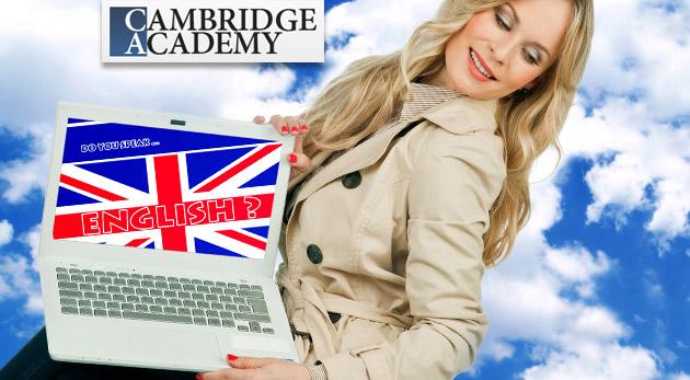 Jazykový online kurz angličtiny v Cambridge Academy v pohodlí vášho domova