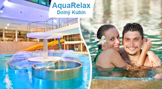 Aquapark AquaRelax v Dolnom Kubíne - 3-hodinový alebo celodenný vstup do Vodného sveta a plaveckého bazénu