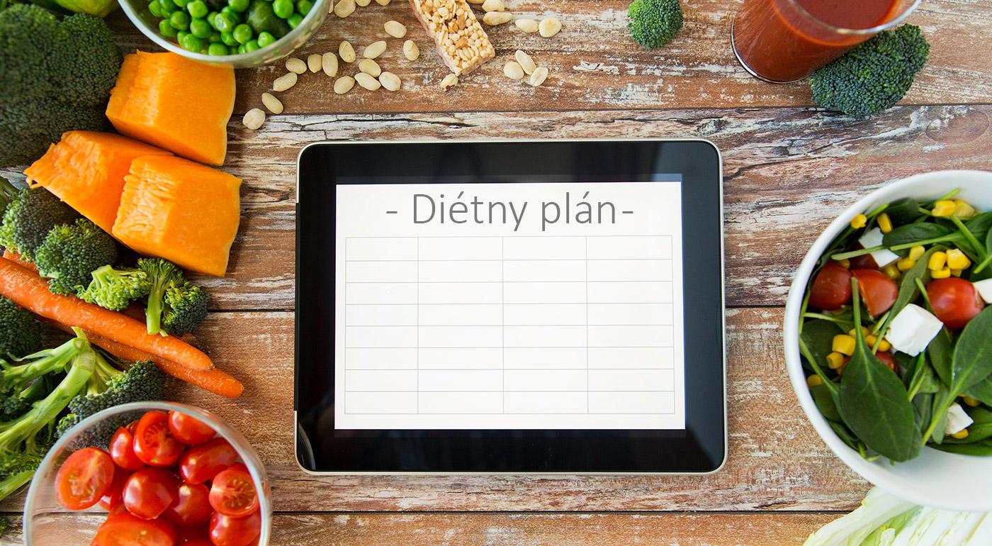 Online zostavenie zoštíhľujúceho jedálnička na 2 alebo 3 mesiace od profesionálneho dietológa