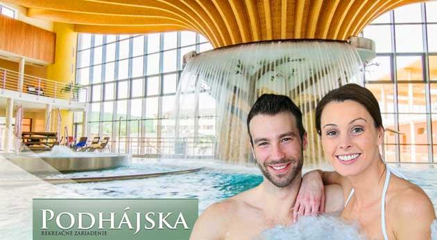 Oddych v Podhájskej blízko termálneho kúpaliska s jedinečnou slanou vodou
