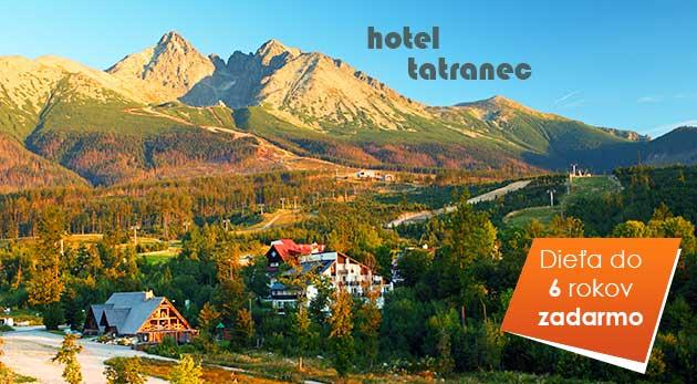 3 jesenné dni v Tatranskej Lomnici v Hoteli Tatranec vrátane polpenzie a skvelých zliav