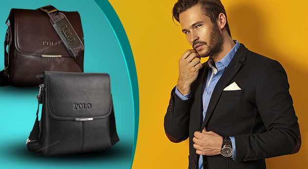 Elegantné pánske POLO tašky - na výber v dvoch farbách