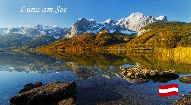 Romantika v jesenných rakúskych Alpách na 3 dni v apartmánoch