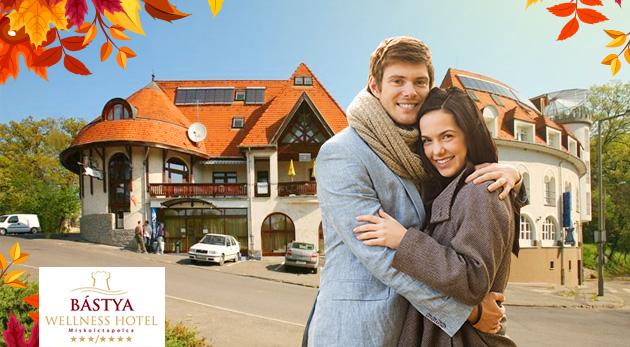 Oddych v maďarskom Bástya Wellness Hotel*** s wellness a polpenziou pre dvoch