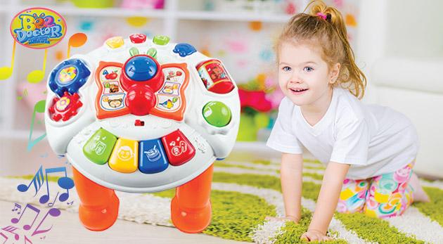 Hrací detský stolík pre správny vývin dieťaťa
