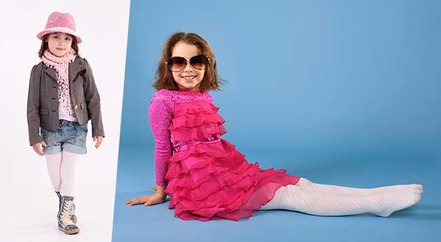 Dievčenské pančuchy v rôznych prevedeniach a veľkostiach