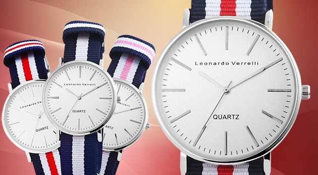 Unisex hodinky Leonardo Verreli - na výber 3 druhy
