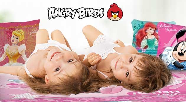 Detské posteľné obliečky v rôznych vzoroch
